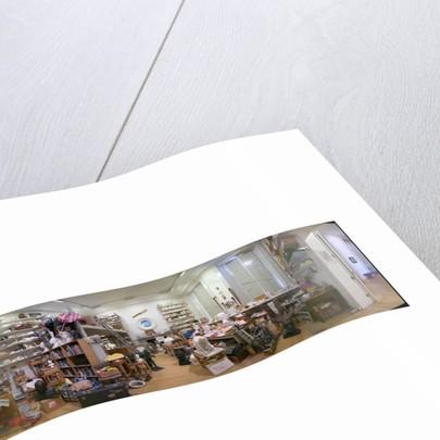 Eduardo Paolozzi Studio Re-creation at the Scottish National Gallery of Modern Art (MOD 2) by Eduardo Paolozzi