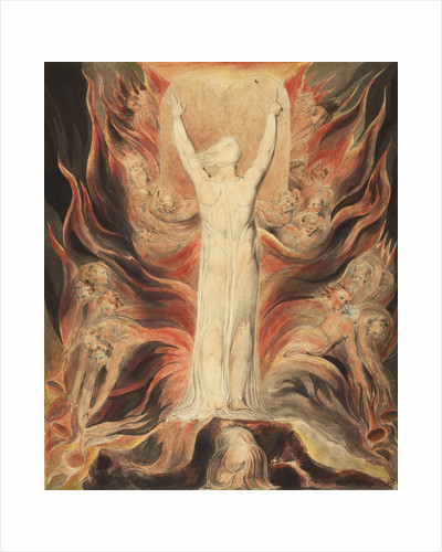 God Writing upon the Tables of the Covenant by William Blake