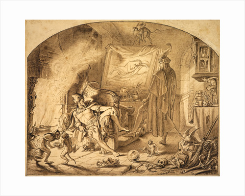 Faust in the Witch's Kitchen by Sir Joseph Noel Paton
