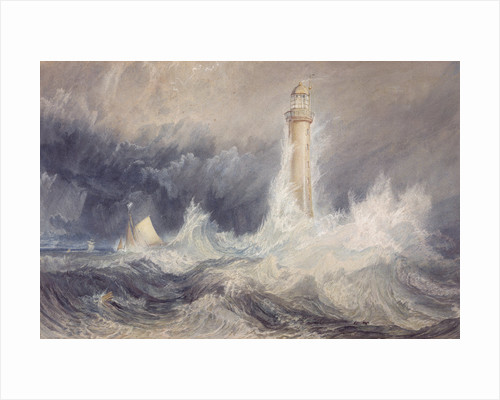 Bell Rock Lighthouse by Joseph Mallord William Turner