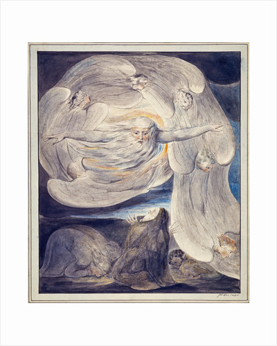 The Lord Answering Job from the Whirlwind by William Blake
