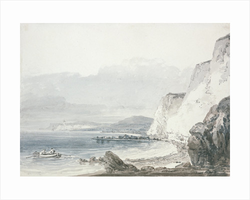 Beachy Head Looking towards Newhaven by Joseph Mallord William Turner