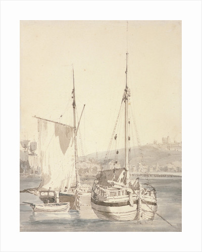 Old Dover Harbour by Joseph Mallord William Turner