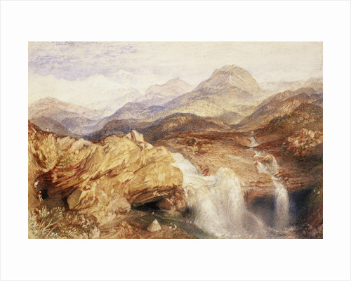 Falls near the Source of the Jumna in the Himalayas by Joseph Mallord William Turner