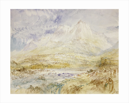 Schwyz by Joseph Mallord William Turner