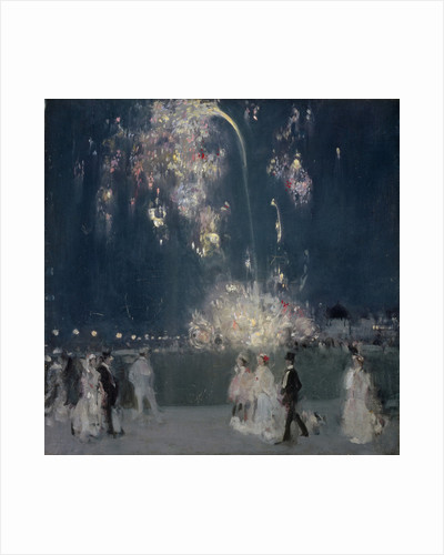 Dieppe, 14 July 1905 : Night by John Duncan Fergusson