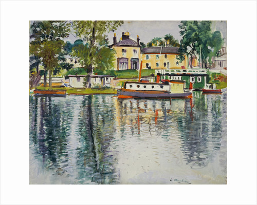 Reflections, Balloch by George Leslie Hunter