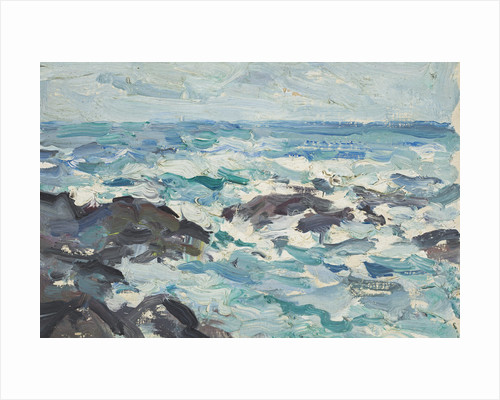Rocks at Barra by Samuel John Peploe