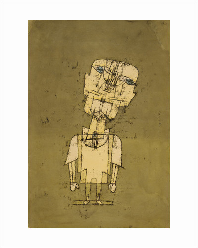 Gespenst eines Genies, no. 10 [Ghost of a Genius] by Paul Klee