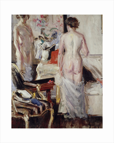 The Model by Francis Campbell Boileau Cadell