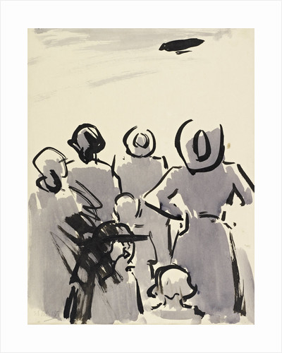 The Air Ship by Francis Campbell Boileau Cadell
