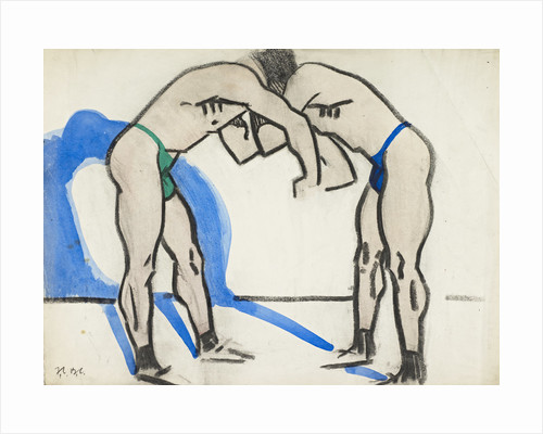 Two Wrestlers by Francis Campbell Boileau Cadell