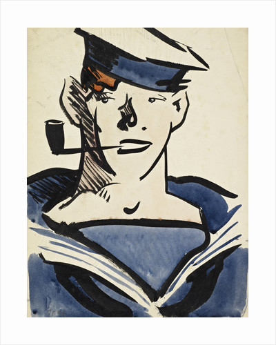 A Sailor by Francis Campbell Boileau Cadell