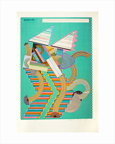 Parrot. From As is when by Eduardo Paolozzi