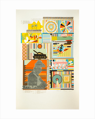 Reality. From As is when by Eduardo Paolozzi