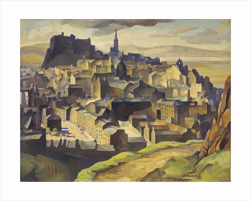 Edinburgh (from Salisbury Crags) by William Crozier