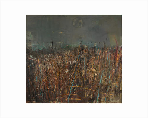 Seeded Grasses and Daisies, September by Joan Eardley