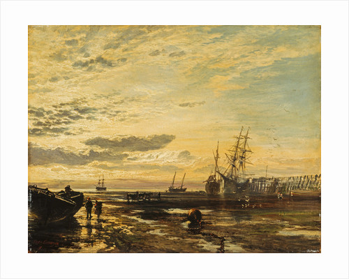 The Solway at Port Carlisle by Samuel Bough