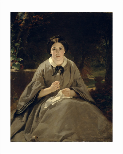 A Lady in Grey by Sir Daniel MacNee
