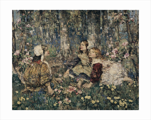 The Music of the Woods by Edward Atkinson Hornel