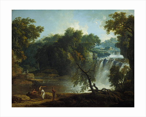 The Falls of Clyde (Corra Linn) by Jacob More