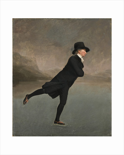 Revd Dr Robert Walker (1755 - 1808) Skating on Duddingston Loch by Sir Henry Raeburn