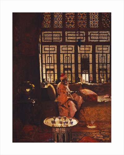 An Arab Interior by Arthur Melville