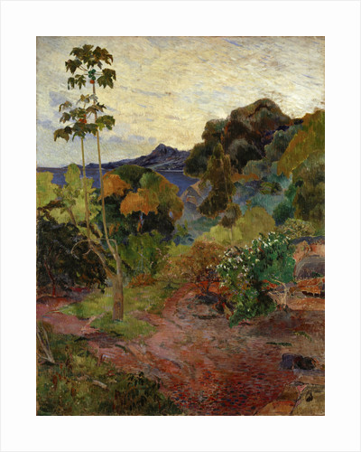 Martinique Landscape by Paul Gauguin