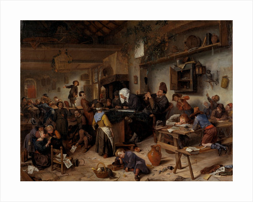 A School for Boys and Girls by Jan Steen