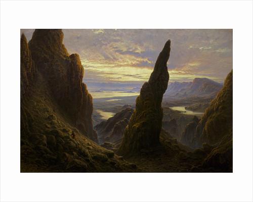 Entrance to the Cuiraing, Skye by Waller Hugh Paton