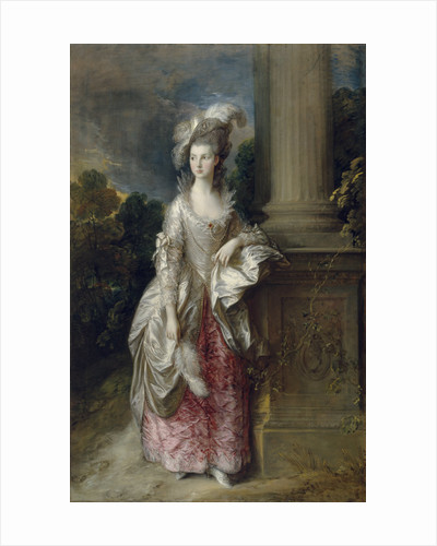 The Honourable Mrs Graham (1757 - 1792) by Thomas Gainsborough