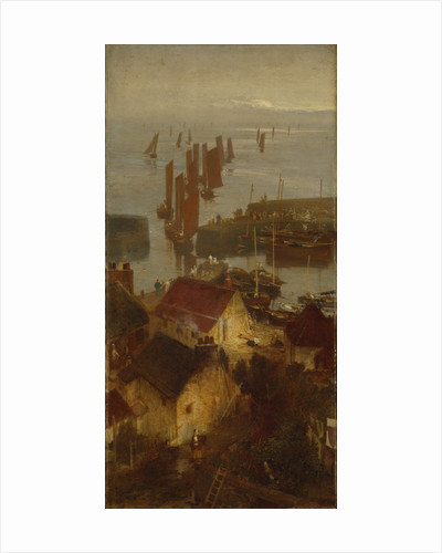 Stonehaven Harbour by Sir William Fettes Douglas