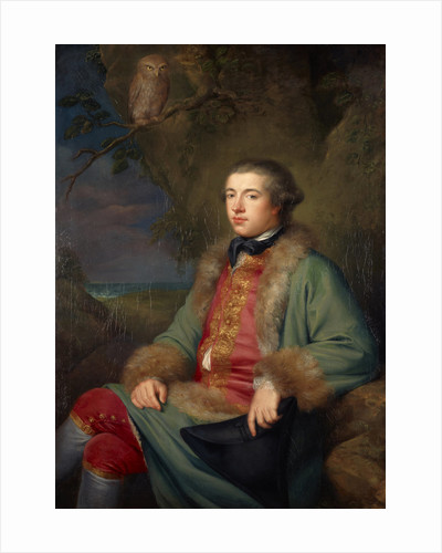 James Boswell, 1740 - 1795. Diarist and biographer of Dr Samuel Johnson by George Willison