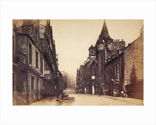 Tolbooth and Canongate, Edinburgh by James Valentine