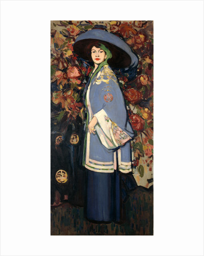 Le Manteau Chinois by John Duncan Fergusson