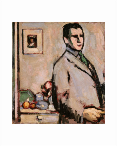 Self-portrait by John Duncan Fergusson
