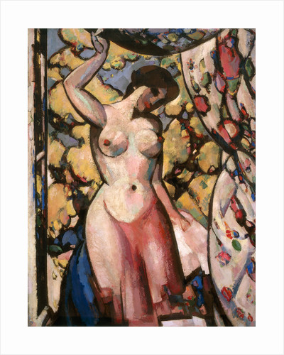 At my Studio Window by John Duncan Fergusson