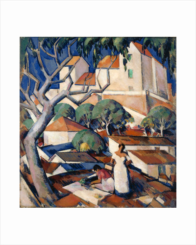 Christmas Time in the South of France by John Duncan Fergusson