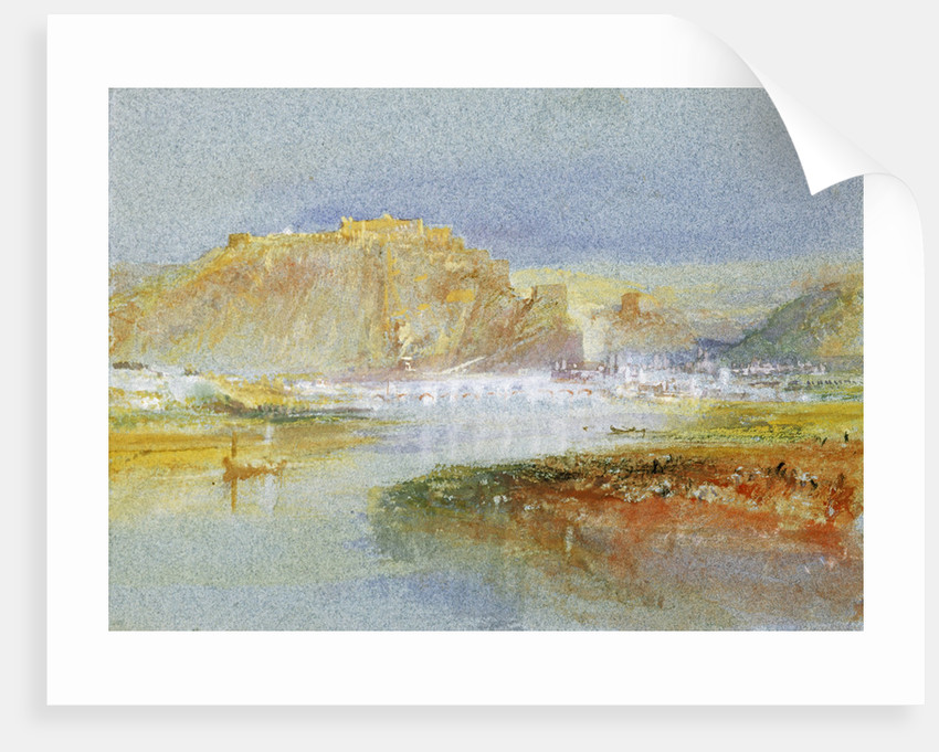 Ehrenbreitstein from the Mosel by Joseph Mallord William Turner