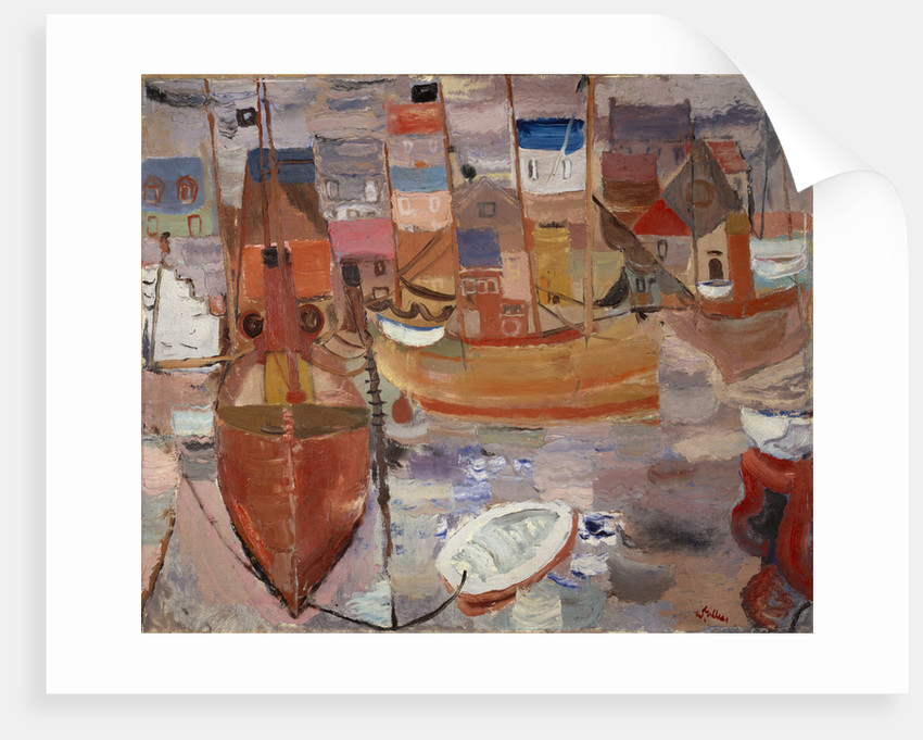 The Harbour by William Gillies