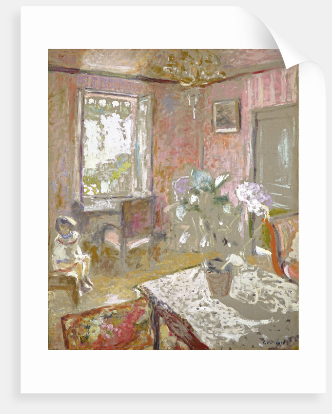 La Chambre rose [The Pink Bedroom] by Edouard Vuillard