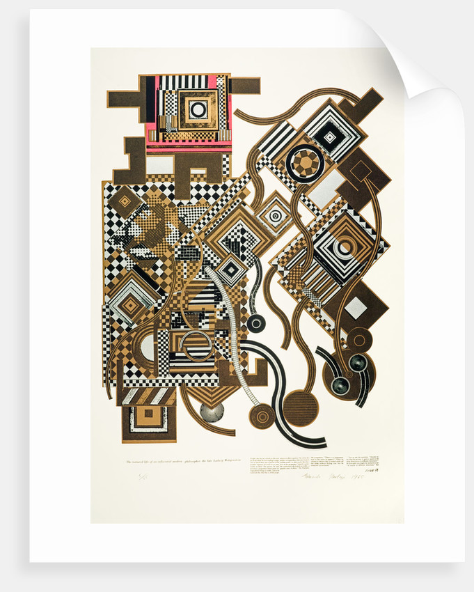 Tortured Life. From As is when by Eduardo Paolozzi
