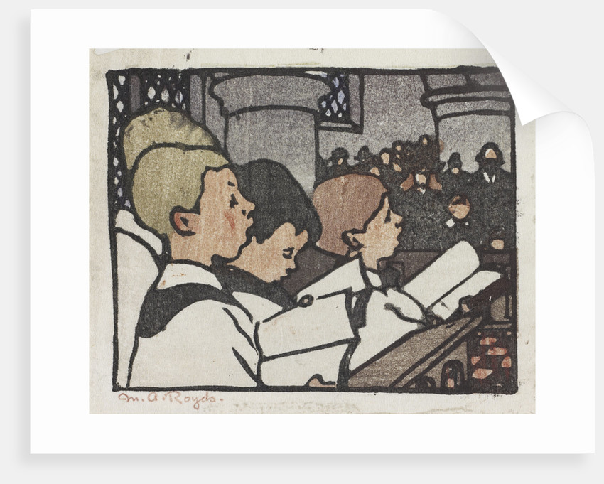 Choir Boys by Mabel Royds