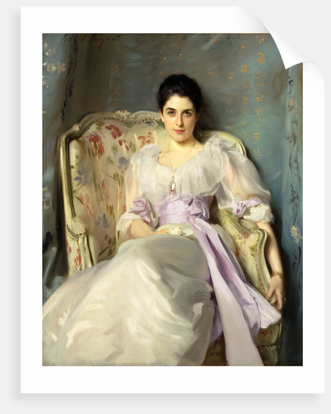Lady Agnew of Lochnaw (1865 - 1932) by John Singer Sargent