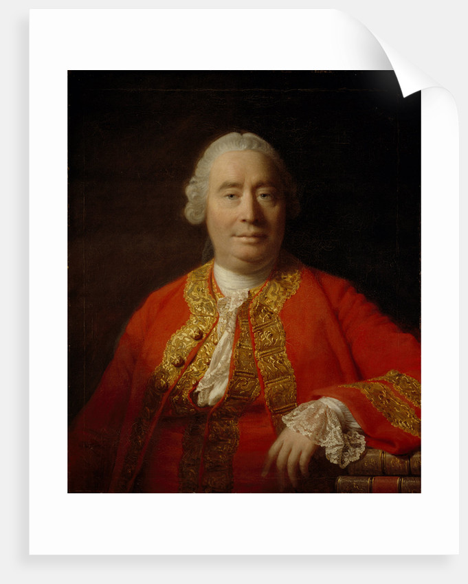 David Hume, 1711 - 1776. Historian and philosopher by Allan Ramsay