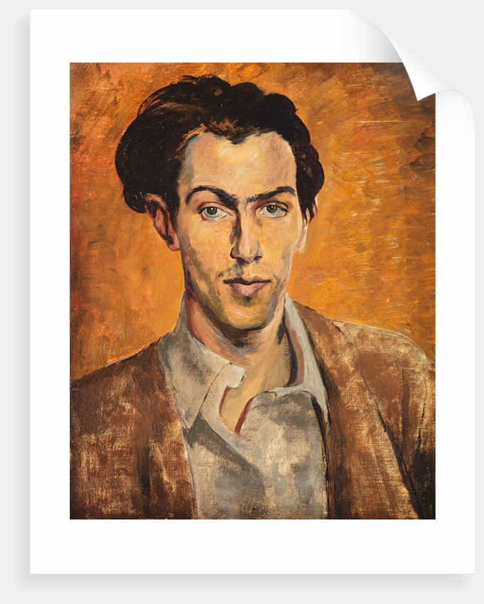 Robert Colquhoun, 1914 - 1962. Artist (Self-portrait) by Robert Colquhoun