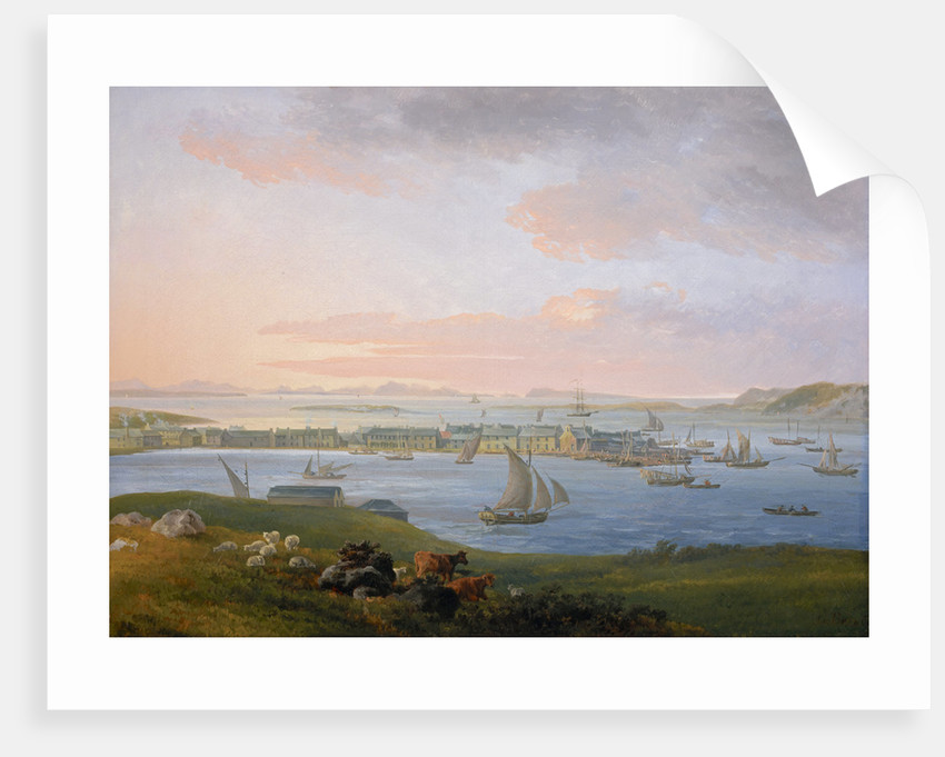 A View of Stornoway by James Barret
