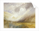 Sion, Capital of the Canton Valais by Joseph Mallord William Turner