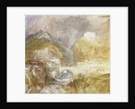 Vèrres in the Val d'Aosta by Joseph Mallord William Turner