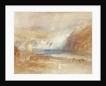 Falls of the Rhine at Schaffhausen, Front View by Joseph Mallord William Turner